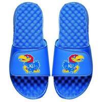 Kansas Jayhawks KU Slides ISlide Primary Adjustable Sandals