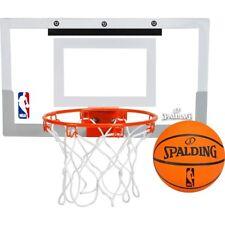 "Spalding NBA Slam Jam Over-The-Door Mini Hoop with 5"" Mini Basketball"
