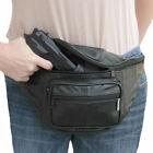 Genuine Leather Holster Waist Belt Clip Pistol Pouch Gun Holder Right Left Hand