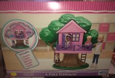 Treehouse Tree House for Barbie Kelly  Chelsea Doll Playset New American Plastic