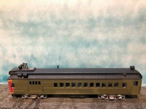 O scale 2 Rail Walthers/Precision Scale Trolley/Doodlebug Passenger Car. New