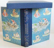 IMPOSSIBLE JOURNEYS Folio Society 2009 Mathew Lyons illustrated box VGC travel