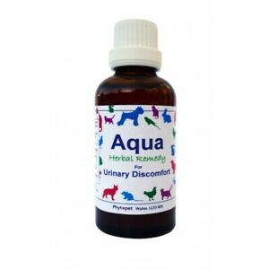 Phytopet Herbal Remedies Aqua 100ml Dog Cat urinary health Cystitis