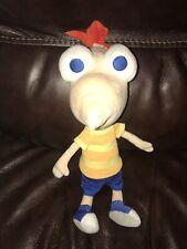 "(7192) Disney Store Phineas  Ferb Talking Plush Doll 15"" Long"