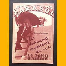 PARASOL N° 21 Revue de charme des années 1930