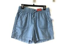 Faded Glory Women's Cargo short Size 6 Color Blue
