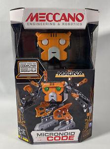 "Meccano-Erector - Micronoid Code Magna Programmable Robot Building Kit ""New"""