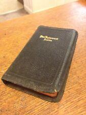 Vintage New Testament  Holman mini PRONOUNCING Bible JEWEL  SCARCE miniature