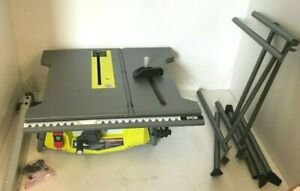 RYOBI RTS12 15 Amp 10 in. Table Saw with Folding Stand, V.GM