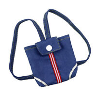 18 Inch Doll Accessory Blue Denim Bag Shoulder Bag For AG American Doll Dolls