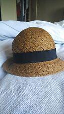 John Lewis Sol Sombrero De Paja detalle de arco de la cinta negra