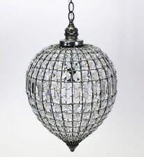 Plafonniers et lustres suspensions transparents pour la maison