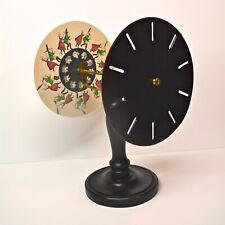 Phénakistiscope double avec 10 disques (motifs originaux)