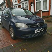 Volkswagen Golf Plus 1.9 TDI 2006/56 plate