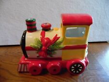 Pfaltzgraff Christmas Heritage Train Pierced Tea Light Holder