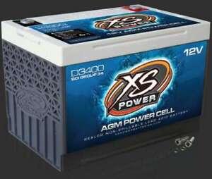 XS POWER BATTERY XS Power AGM Battery 12 Volt 1000A CA P/N - D3400