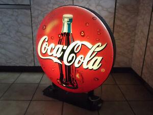ORIGINAL COCA-COLA LAMPE WERBELEUCHTE,LEUCHTREKLAME TOLLE DEKO!!! #7264