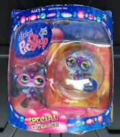 LITTLEST PET SHOP GROOVIEST SERIES SPECIAL EDITION PET Owl  Bubble Display