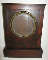 ANTIQUE AMERICAN CHAUNCEY JEROME FUSEE SHELF CLOCK CASE