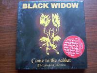 "Black Widow 5 x Singles BOX ""Come To The Sabbath"" NEW-OVP"