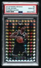 New Listing2019-20 Panini Mosaic Stained Glass Kyrie Irving #6 Psa 10 Gem Mint