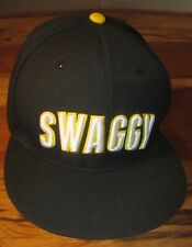 Justin Bieber SWAGGY Mens Baseball Cap, Believe, Black, Snapback, NEW