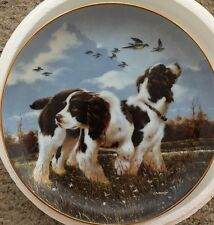 """Collectors Plate, """" Spring Training """" By Phillip Crowe"""