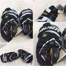 Bauer Total One Supreme Hockey Gloves 10� 11� Mismatch Black Nwt Ygi Gl9-1