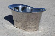 NICKEL FINISH COPPER BATEAU BATH 1700MM