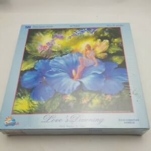 NEW RARE Sunsout Love's Dawning 500 Piece Jigsaw Puzzle Mary Baxter St. Clair