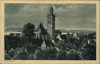 Überlingen am Bodensee Postkarte ~1920/30 Kirche Panorama Teilansicht ungelaufen