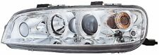 FIAT Punto MK2 1999-2003 chrome halo angel eye projecteur phares feux avant