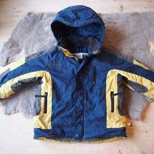 Columbia Mantel Wintermantel Winterjacke Jacke 4J 5J 104 110 blau gelb Outdoor