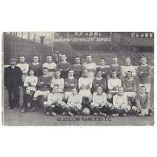 More details for glasgow rangers fc team group 1911/12 postcard health & strength series