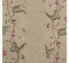 Ralph Lauren Home Fabric KRAVET-EMBROIDERY Vanderlyn Crewel Cobblestone $$$$$$$$