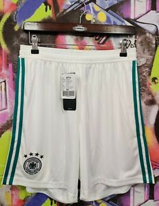 Germany National Football Team 2017 2018 Away Soccer Shorts Adidas Sample Mens M