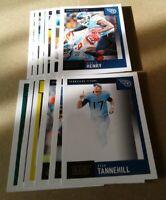 2020 Score Tennessee Titans Team Set, Ryan Tannehill 15 Cards 3 RC