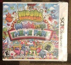 Moshi Monsters: Moshlings Theme Park (Nintendo 3DS, 2012) New & Sealed