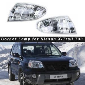 2PCS Side Front Corner Turn Fog Light lamp for Nissan X-TRAIL T30 2001-2007