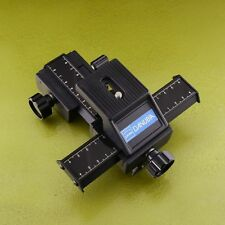 DÖRR DANUBIA big focusing rail slider TRIPOD table macro 4-way camera ☆☆☆☆