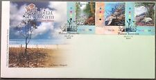 M'sia FDC Threatened Habitats 15.7.2010 ( corner stamps)