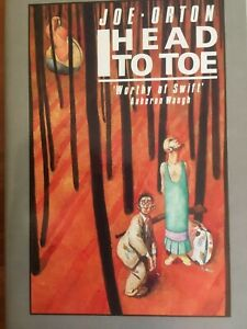 Head to Toe by Joe Orton Hardcover book pre-owned