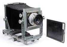 Calumet C1 8X10 Camera w/ Ilex 375mm Lens + Holder custom modified and painted