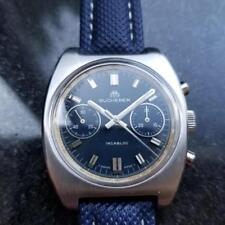BUCHERER Men's Valjoux cal.7733 Chronograph 36mm, c.1970s Swiss Vintage LV357