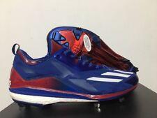 "Adidas Aumento Icon 2.0 Personalizado "" Kris Bryant "" Metal Béisbol Tacos Sz 14"