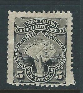 Bigjake: RU14d, 5 cent New York Consolidated Card Co., Match & Medicine