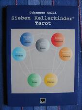 Johannes Galli: Sieben Kellerkinder Tarot - Spiel Gesellschaftsspiel m Anleitung