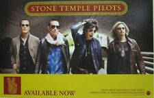 STONE TEMPLE PILOTS 2010 S.T.P. 2 sided promotional poster ~NEW & MINT condition