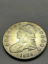 1829 Capped Bust Liberty Half Dollar VF #2451