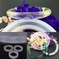 Moule de moulage en silicone rond moules pour bracelet en résine de bijoux.FR